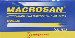 Antisepticos Antiinfecciosos Macrosan 20 Capsulas 50Mg