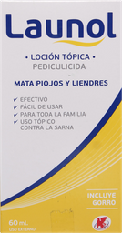 Parasitos Externos Launol Locion 60Ml.