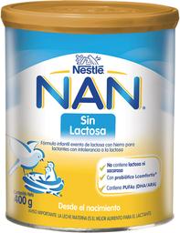 Formulas Nan S/Lactos.400G