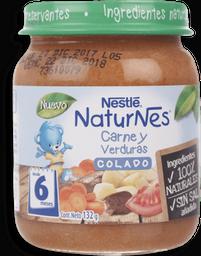 Comida Naturnes A.Colados Carne/Verduras