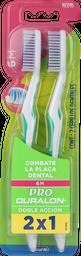 Cepillos Dentales Dural.Cep.6M Mixto    2X1