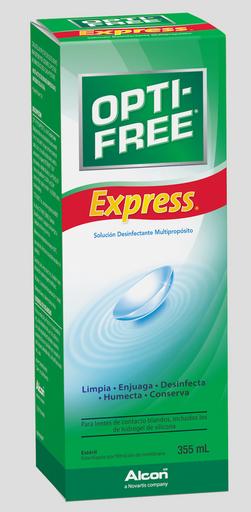 Opti-Free: Express Solución de 355 mL