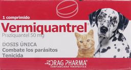 Profilaxis Veterinaria Vermiquantrel Com.50Mg.1