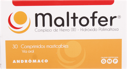Antianemicos Maltofer Commast.100Mg.30