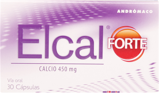 Calcio Mujer Elcal Fte.Cap.450Mg.30