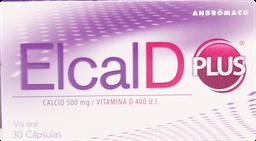 Calcio Mujer Elcal-D Plus Cap.30