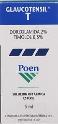 Medicamentos Oftamologicos Glaucotensil-T Sol.Oft.5M