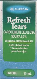 Medicamentos Oftamologicos Refresh Soloft.0,5% 15Ml