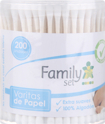 Higiene Infantil F.Set Cotonitos X200