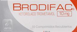 Dolor Y Fiebre Brodifac Com.10Mg.10