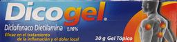 Antiinflamatorios Dicogel Gel 1.16% 30Gr.