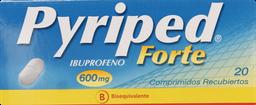 Antiinflamatorios Pyriped Fte.Com.600Mg.20