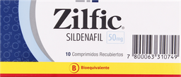 Disfuncion Erectil Zilfic Com. 50Mg.10