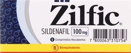 Disfuncion Erectil Zilfic Com.100Mg. 5