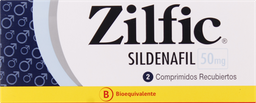 Disfuncion Erectil Zilfic Com.50Mg.2