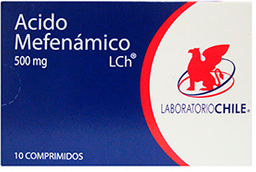 Dolor Y Fiebre Ac.Mefenamic.Com.500Mg10*