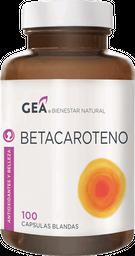 Vitaminas Y Minerales Gea Betacaroteno Cap.100
