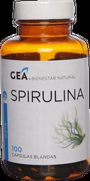 Deporte Y Dieta Gea Spirulina Cap.100