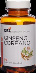 Vitaminas Y Minerales Gea Ginseng Rojo C.Com.50