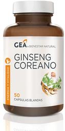 Ginseng Vitaminas Y Minerales Gea Rojo C.Com.50