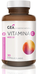 Vitaminas Y Minerales Gea Vite Cap.400Ui.30