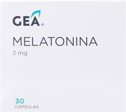 Gea Melatonina Cap 3mg 30