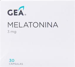 Vitaminas Y Minerales Gea Melatonina Cap.3Mg.30