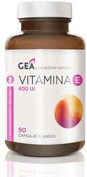 Vitaminas Y Minerales Gea Vite Cap.400Ui.90