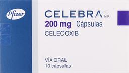 Antiinflamatorios Celebra Cap.200Mg.10