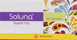 Anticonceptivos Soluna Com.75Mcg.28