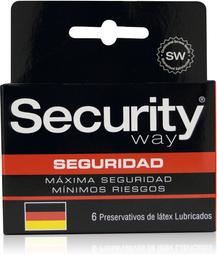 Preservativos Y Accesorios Security Seguridad X6