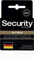 Preservativos Y Accesorios Security Xtra Resistente  X3