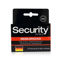 Preservativos Y Accesorios Security Espermicida X6