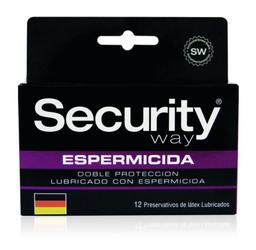 Preservativos Y Accesorios Security Espermicida X12