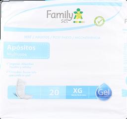 Apositos Adulto F.Set Aposito Xg. X20
