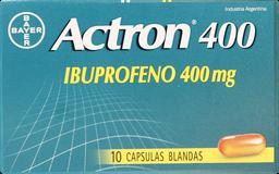 Actrón 400 10 Cápsulas (400 mg)