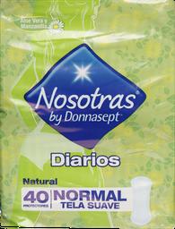 Protectores Diarios Donna.P.Diar.Natural X40