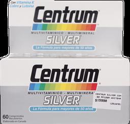 Vitaminas Centrum Silver Com.60