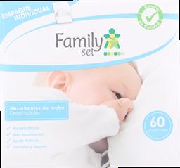 Accesorios Mamarios F.Set Absorbente Anat.Lechex60