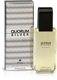 Fragancias Hombre Quorum Silver Edt.Vap.100