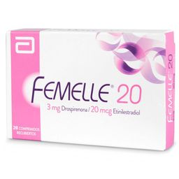 Femelle Anticonceptivos 20 Drospirenona 3 Mg