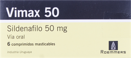 Disfuncion Erectil Vimax 50 Com.50Mg. 6