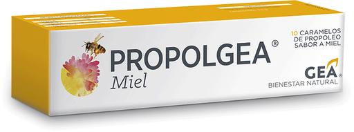 Propolgea Vitaminas Y Minerales Miel Caramel 10Un