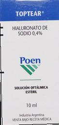 Medicamentos Oftamologicos Toptear Sol.Oft 0,4% 10Ml