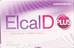 Calcio Mujer Elcal-D Plus Cap.60