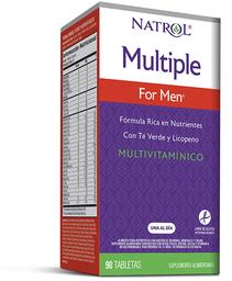Multiple For Men Vitaminas Y Minerales Com.90