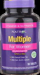 Vitaminas Y Minerales Multiple For Women Com.90