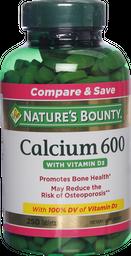 Vitaminas Y Minerales Nb Calcium 600 Com.250