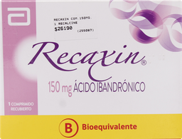 Osteoporosis Recaxin Com.150Mg.1