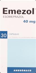 Antiulcerosos Emezol Cap.40Mg.30